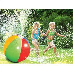 Poolmaster splash & spray beach ball inflatable